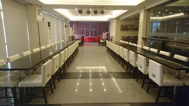 Function room at Aicila Suites