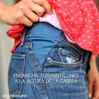 ensancha pantalón embarazada blog mimuselina