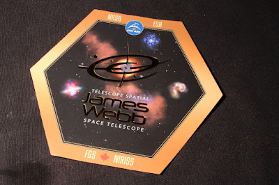 James Webb Space Telescope sticker from the CSA
