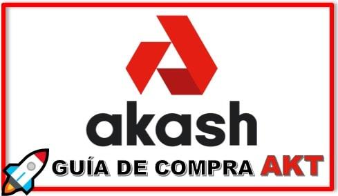 Cómo y Dónde Comprar AKASH NETWORK (AKT) Criptomoneda