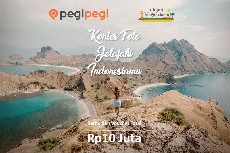 PegiPegi - Promo Kontes Foto Jelajahi Indonesia Hadiah Voucher 10 Juta (s.d 17 Otk 2018)