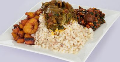 The health value of eating 'ofada' rice