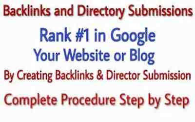 Create high pr Dofollow Backlinks for Website