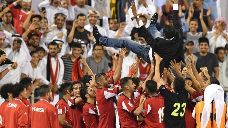 Seleção do Iêmen de futebol após classificação para Copa da Ásia