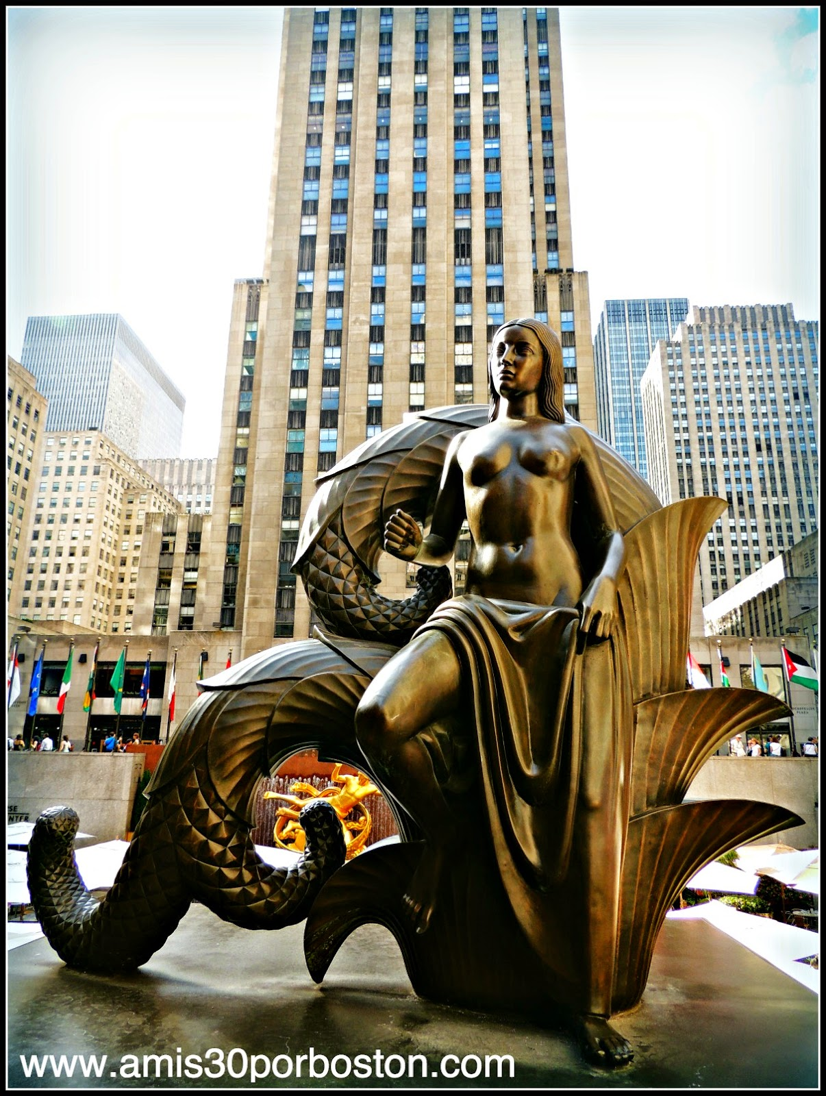 Segunda Vista a Nueva York: Rockefeller Center