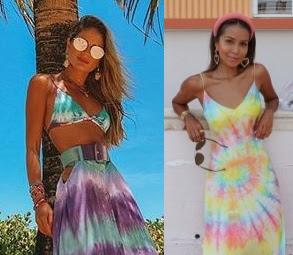 Looks inspiração com tie dye, Thássia Naves, Julie Sarinana