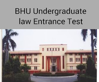 BHU Undergraduate law entrance Exam 2018
