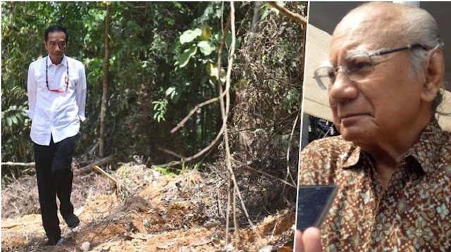 Emil Salim Sarankan Hanya Presiden, Wapres dan Setneg Berkantor di Ibu Kota Negara Baru