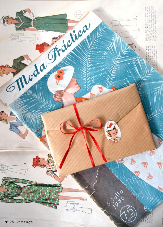 diy, packing, empaquetado, figurin, papel craft, regalo, libro, salamanca, sobre