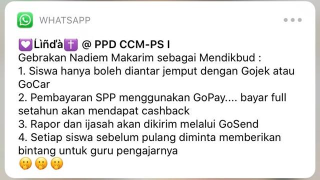 Ragam Kicauan Kocak Netizen Twitter soal Nadiem Makarim Jadi Mendikbud