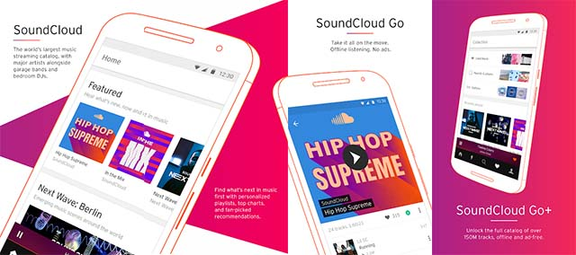 Soundcloud - Aplikasi Streaming Musik Android Gratis