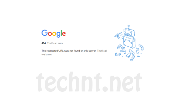 google chrome - Teh requested URL was found on this server