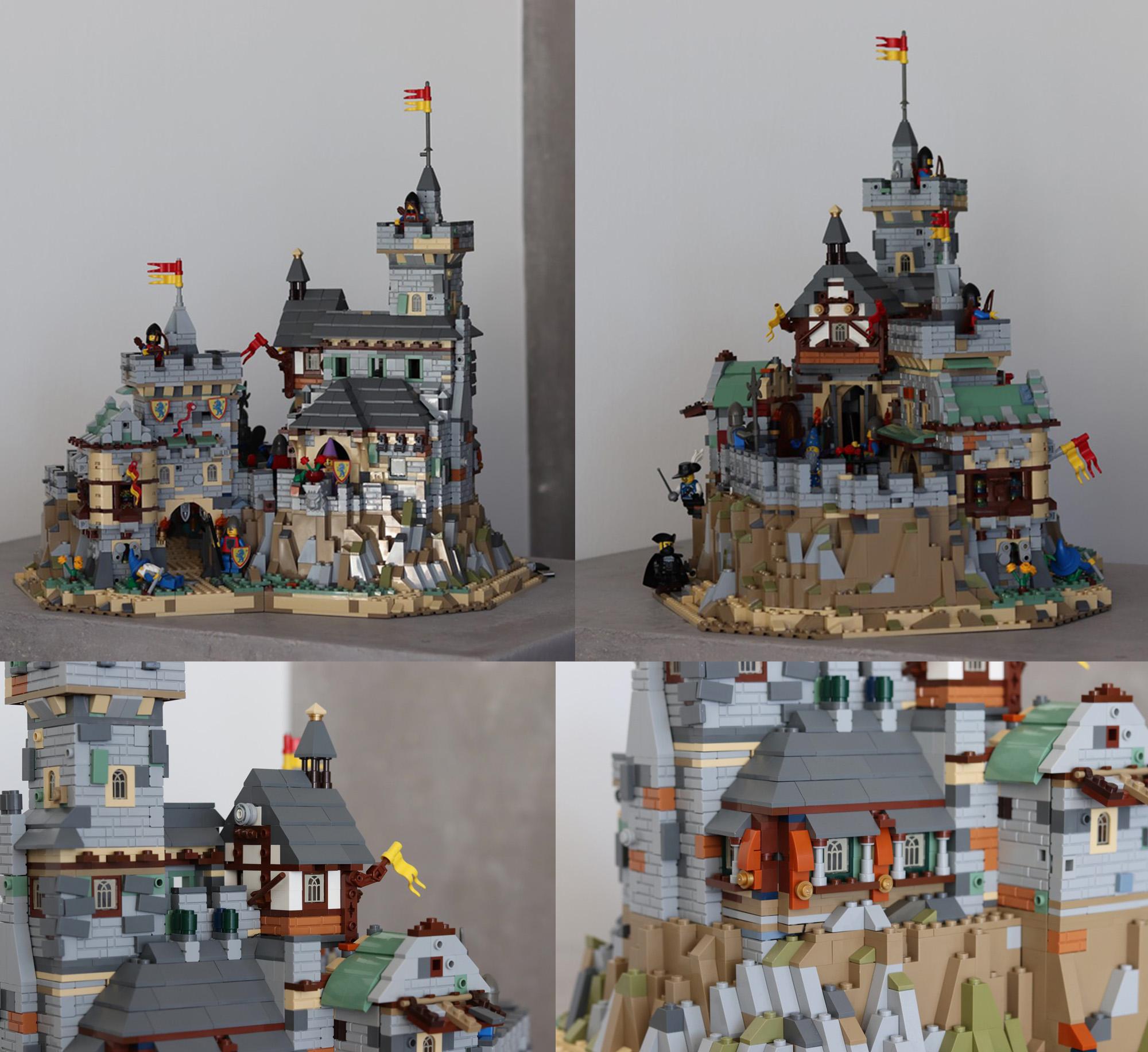 中世の城:Classic Castle
