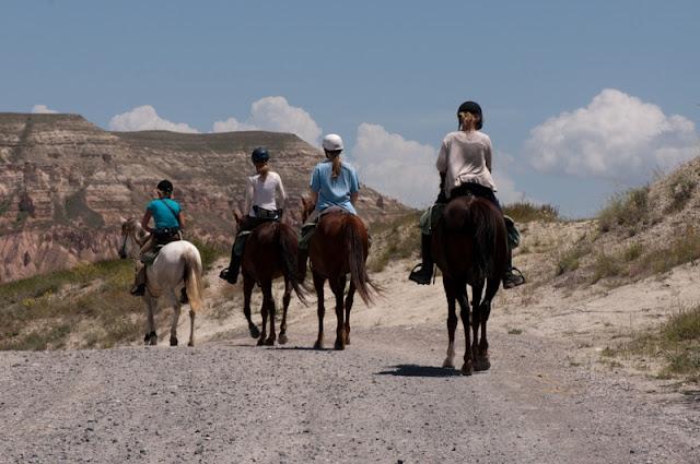 Kapadokyada Atlı tur
