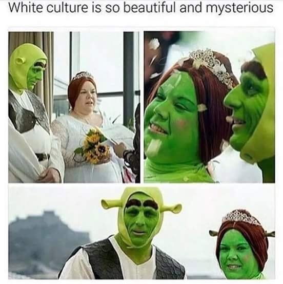 White culture is so beautiful and mysterious