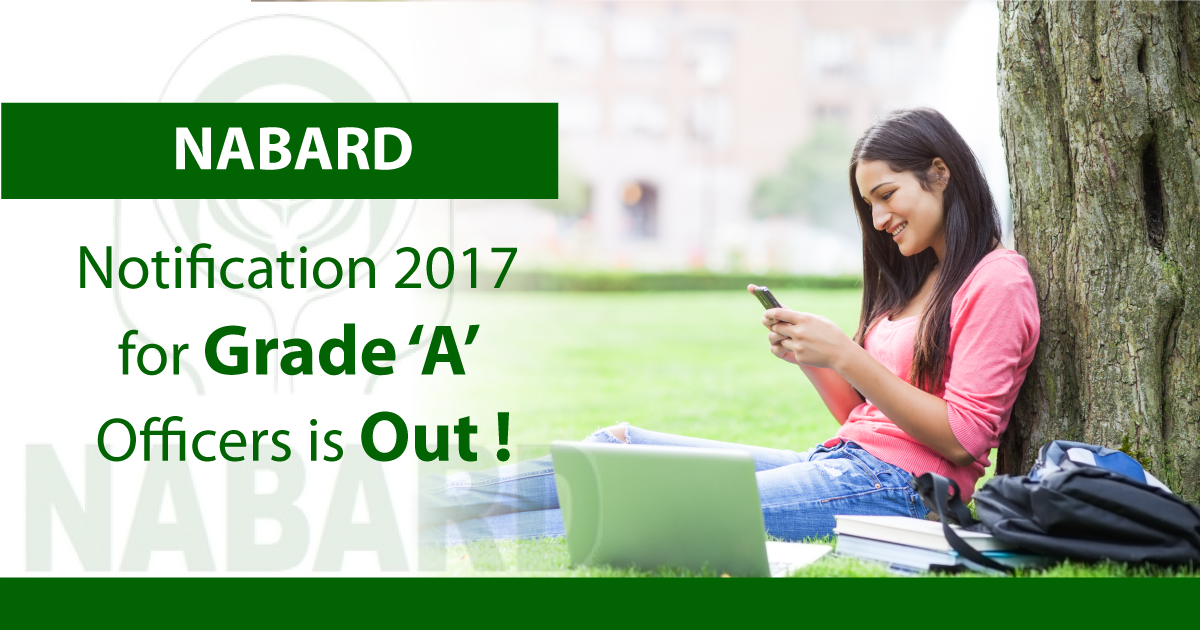 NABARD Notification 2017