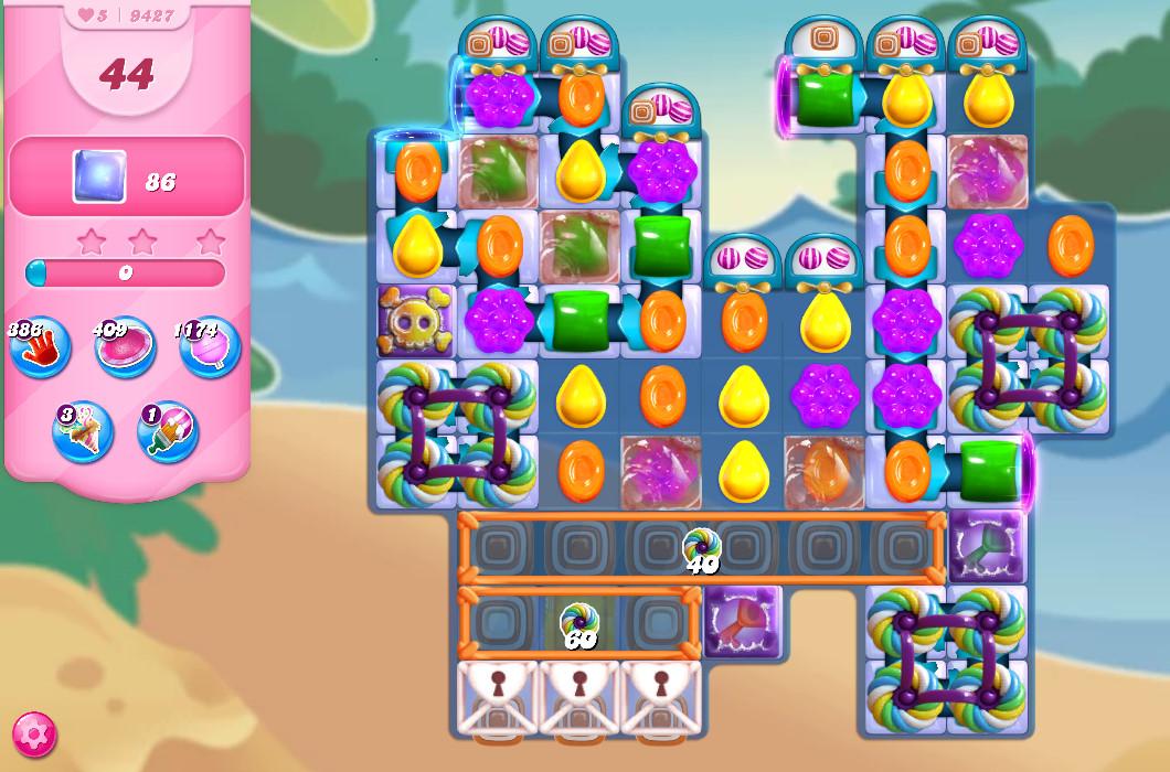 Candy Crush Saga level 9427
