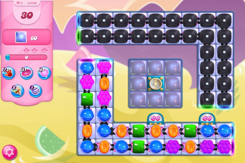Candy Crush Saga level 8290