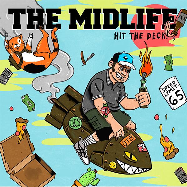 "The Midlife stream new album ""Hit The Deck!"""