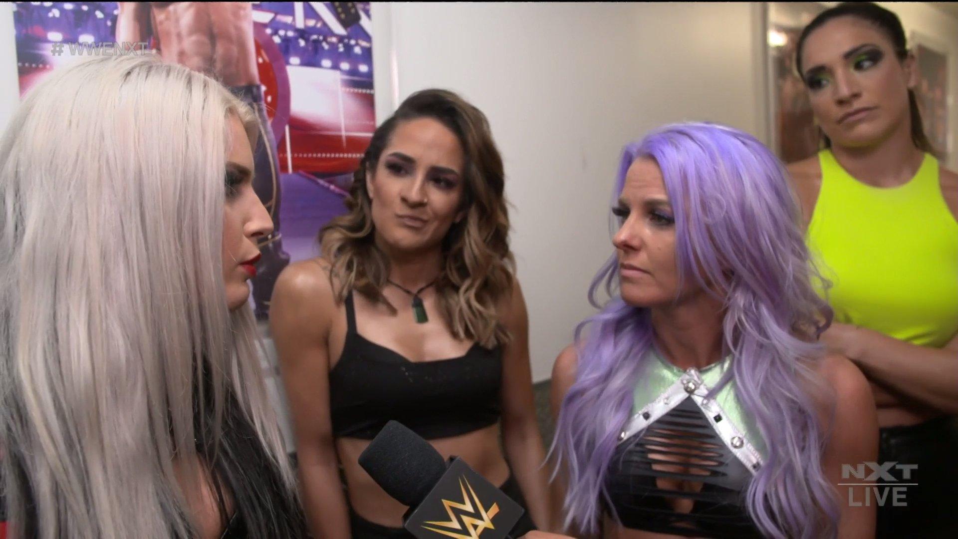"""Reveladas integrantes do Team LeRae no NXT TakeOver """"WarGames"""""""