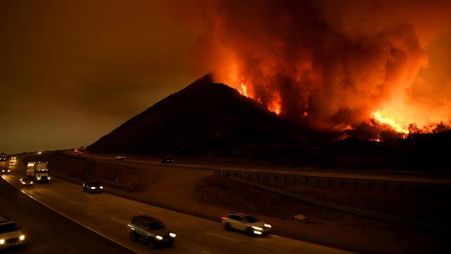 CA Wildfires Updates 12/08/17 La-me-thomas-fire-photos