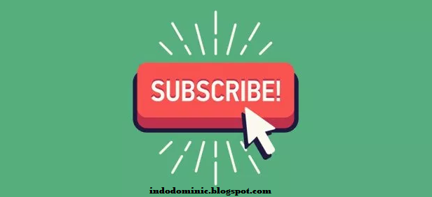 How to create a youtube subscribe button on a blog
