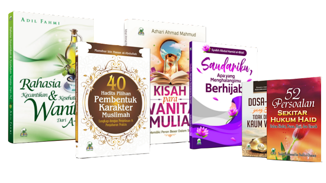 Paket Buku Wanita Shalihah