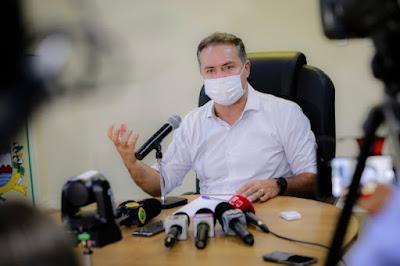 Em Alagoas; Renan Filho defende agilidade no cronograma de vacinação; novas doses chegam dia 24