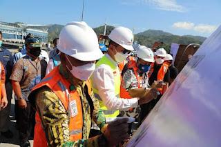 Wagub Sumut Lepas Ekspor Perdana melalui Pelabuhan Sibolga