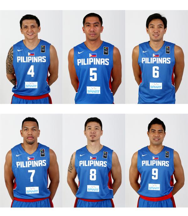 Gilas Pilipinas Final 12-man lineup to 2014 FIBA Basketball World Cup (PHOTOS)