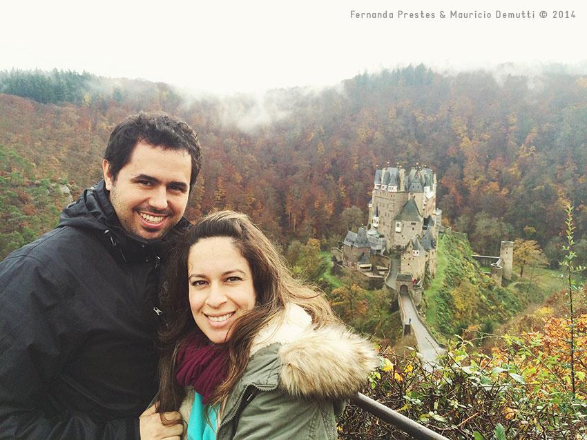 mirante do castelo de burg-eltz