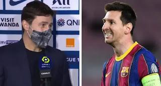 PSG boss Pochettino swears not to talk about Messi anymore
