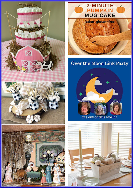 Over The Moon Linky Party. Share Now. DIY, crafts, recipes, stories. #OTM #overthemoon #eclecticredbarn