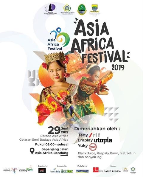 Disbudpar Kota Bandung Gelar Asia Africa Festival 2019