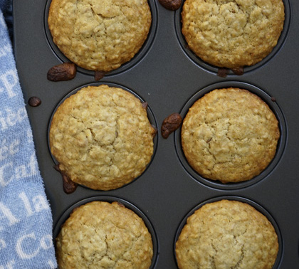 Tips on how to make muffins and a recipe for orange oatmeal muffins
