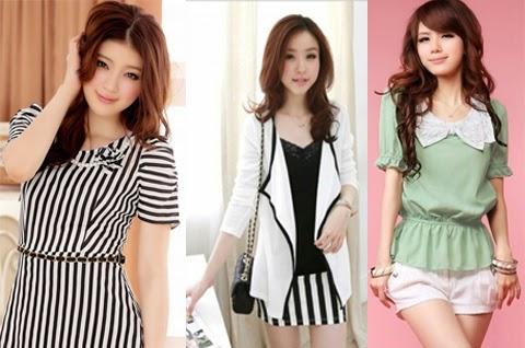 model baju korea wanita