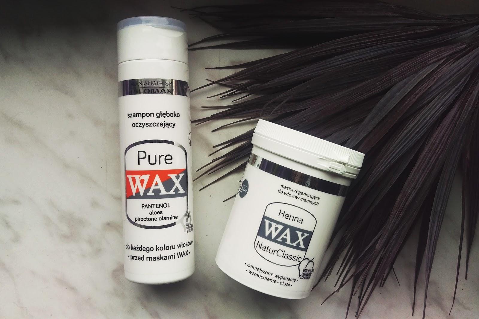 szampon wax na porost włosów