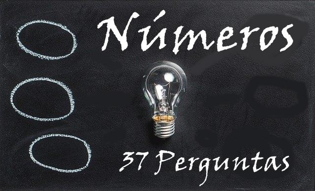 Números 37 perguntas