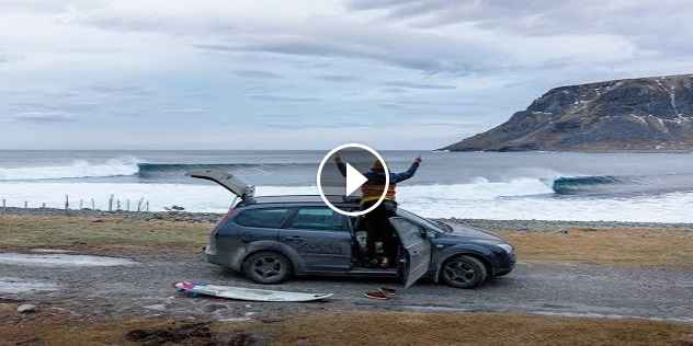 Arctic January A Lofoten Surf Mission With Oliver Hartkopp