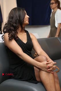 Telugu Actress Kamna Singh Stills in Black Dress at Bharat Thakur Art Exhibition Launch  0166.jpg