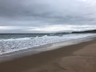 The sea at White Park Bay