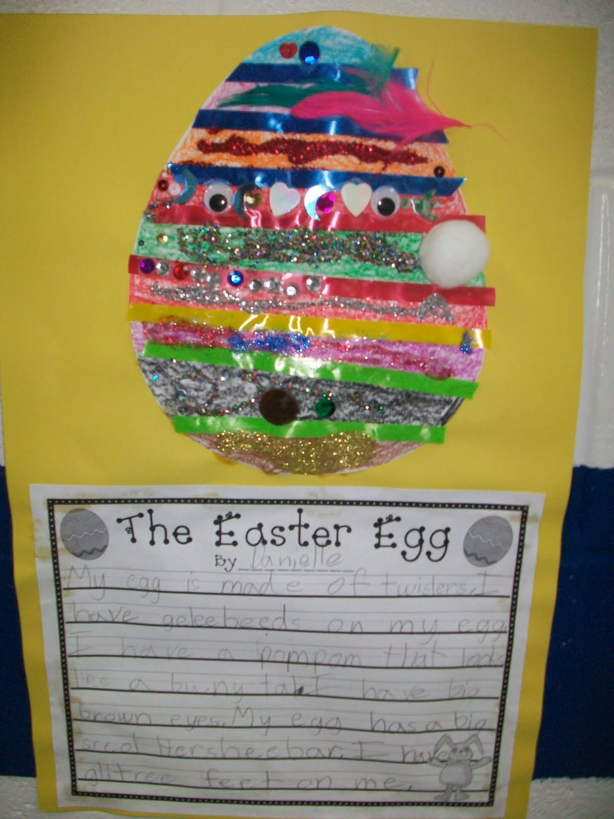 Crazy For First Grade The Easter Egg