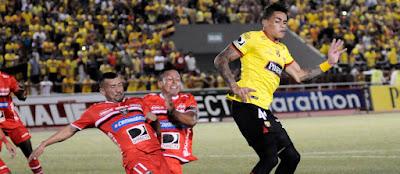 Barcelona Guayaquil se impone a River Ecuador por 2 a 0
