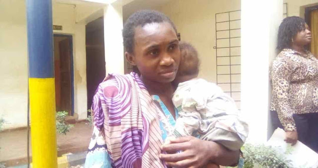 Crime: Nigerian Lady Gets Arrested While Trying To Sell Her Baby For ₦40,000