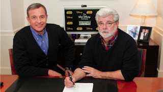 George Lucas sells Star Wars to Disney