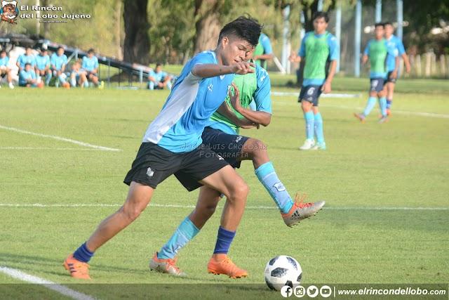 Ensayo de fútbol con miras a Chacarita