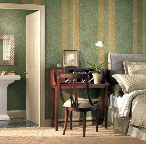 Modern Furniture: Candice Olson Bedroom Wallpaper