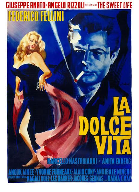 Póster película La dolce vita