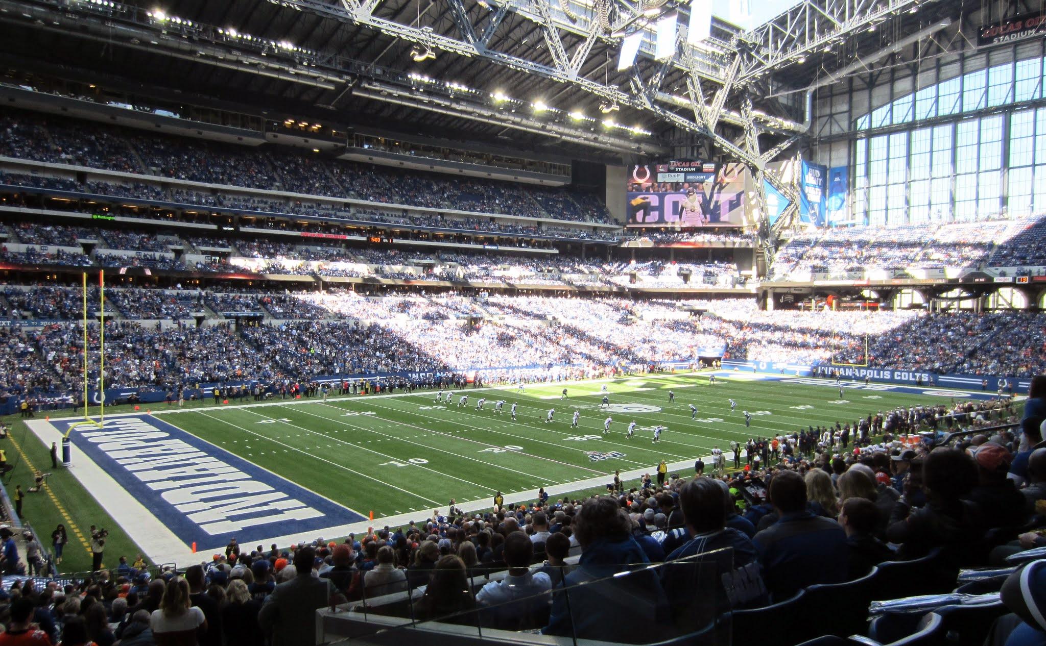 Inside Lucas Oil Stadium