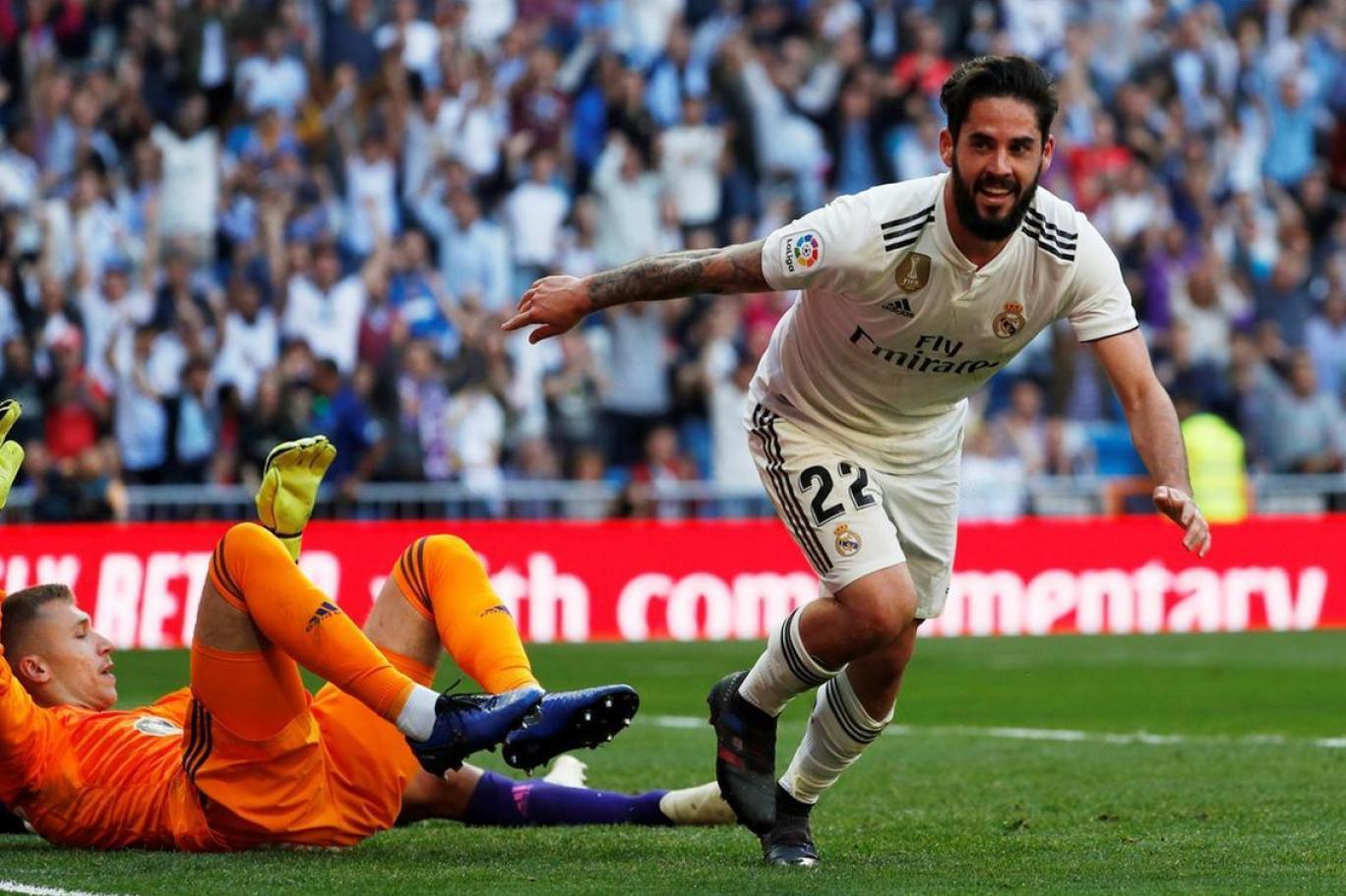 مباراة ريال مدريد وسلتا فيجو في الدوري الاسباني